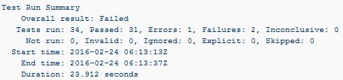 Configure Atlassian Bamboo(v5 9 4) NUnit Runner to execute
